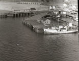 Aerial photograph of R/V Dolphin at Sandy Hook Coast Guard dock